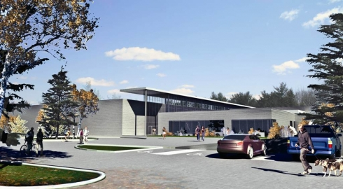LCLC RENDERING MAIN ENTRANCE