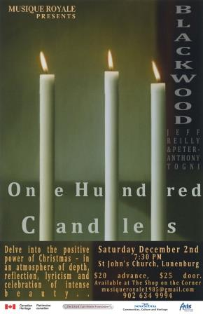 BLACKWOOD: CHRISTMAS CONCERT OF 100 CANDLES