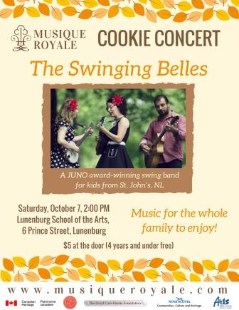 Fall Cookie Concert with The Swinging Belles